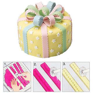 Futaba Fondant Embosser Cutter Cake Icing Decorating + 3 Wheel Sugar Craft