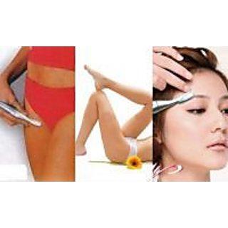 SNR Buy 1 Get 1 Free Hair Remover Women Eye Brow Trimmer