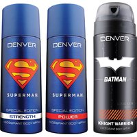 Buy 2 Superman deo and Get 1 Batman deo free