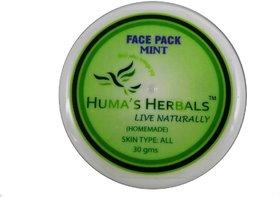 Humas Herbals Home Made Natural Face Pack - Mint (30 gms)