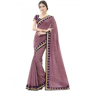 Pink Colour Party Wear saree