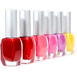 set of 10 nail paints.....multicolour