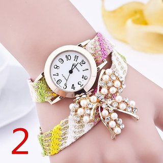 Stylish Fancy Females Bow Knot watch
