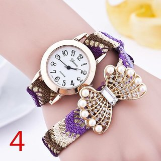 Stylish Fancy Females Bow Watch