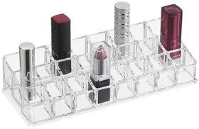 18 pcs Lipstick Holder Stand Shelf Vanity