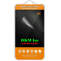 2.5D Curved Edge HD Tempered Glass For Lava Iris Fuel F1