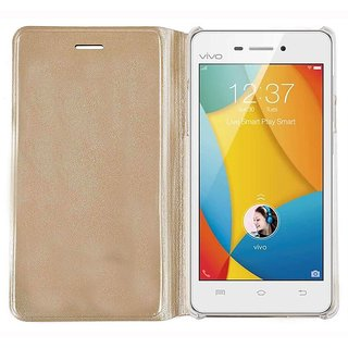 Vivo Y31 Golden Flip Cover