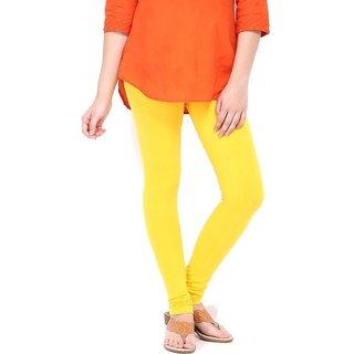 Yellow Cotton Leggings - Radhika