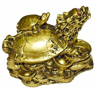 Astro Guide 2.5 Inch Dragon Tortoise with Child/baby tortoise