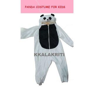 panda animal fancy dress costume for kids