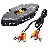 3 IN 1 RCA SWITCH