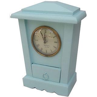 DEZARO Wooden Clock Green