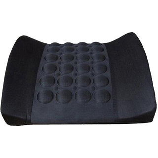 Capeshoppers vibrating backrest cushion Black Mahindra  Bolero