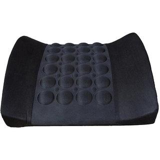 Capeshoppers vibrating backrest cushion Black Maruti  Swift  Dzire  2012