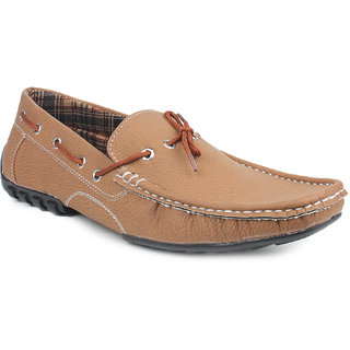 Pede Milan Men's Tan Loafers
