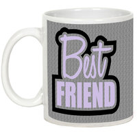 Friendship Day Gifts - AllUPrints Best Friends Are Forever White Ceramic Coffee Mug - 11oz
