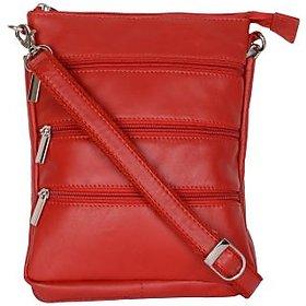 BluWhale Genuine Leather Unisex Sling Bag