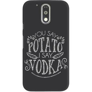 Dreambolic You Say Potato  I Say Vodka Graphic Back Covers