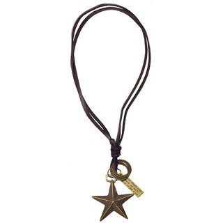 Men Style Antique Fashion Star Cross  Bronze  Zinc Alloy Star And Jesus Pendent For Men And Women