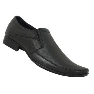 ColorWorld Mens Slip-On Size 7 Black Formal Shoes