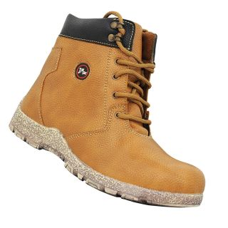ColorWorld Mens Lace Boots Size 7 Beige Casual Shoes