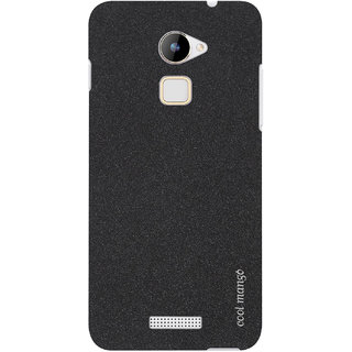 Cool Mango Frosted SandStone Finish Matte Slim Back Cover for CoolPad Note 3 Lite (Black)