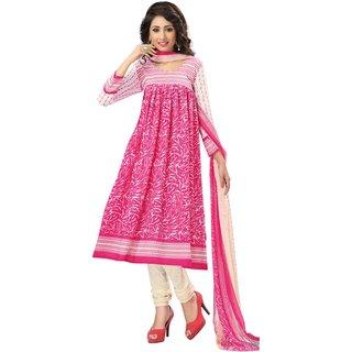 Sonal Trendz Printed Crepe Salwar Suit Dress Material UnStitched