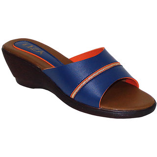 Liza Womens  Fashion Synthetic Blue ( LIZA-1592 )