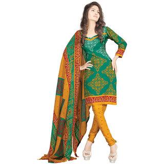Riaan Trendz Printed Crepe Salwar Suit Dress Material UnStitched
