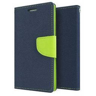 Mercury Flip Cover For BalckBerry -Z10 Blue
