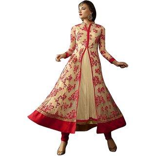 Khushi Trendz Net Green Se Stitched Salwar Suit