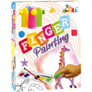 Awals Finger Painting