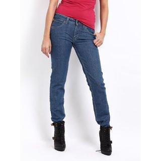 Lee Blue Eva Mid Slim Skiny Jeans