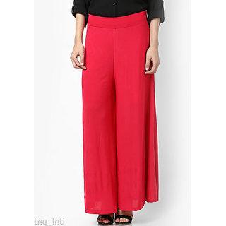 palazzo pants/women beautiful palazzo pants/ pink color palazzo/ ladies palazzo