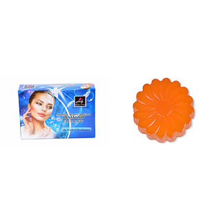 Absolute Beauty Skin Care Insta Glow Diamond Smooth TextureFacial Kit For Dead Cells + Kojic Acid Soap Free