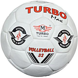 Paras Magic Turbo Max White Volleyball