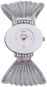fast selling Timebre Amusing Women White Silver Bracelet Watch