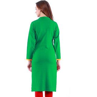 Dove Green Woolen Kurti