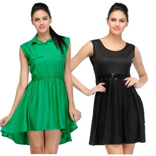 Visach Dress Combo for Women
