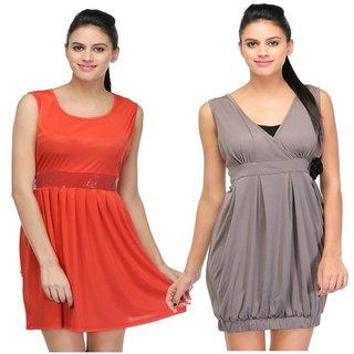 Visach Dress Combo for Women