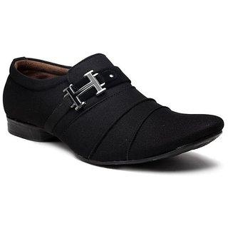 Footista H Black Party Wear Shoes