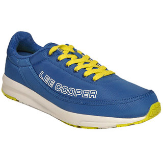 Lee Cooper Mens LC3530 Blue Sports Shoes Size-40