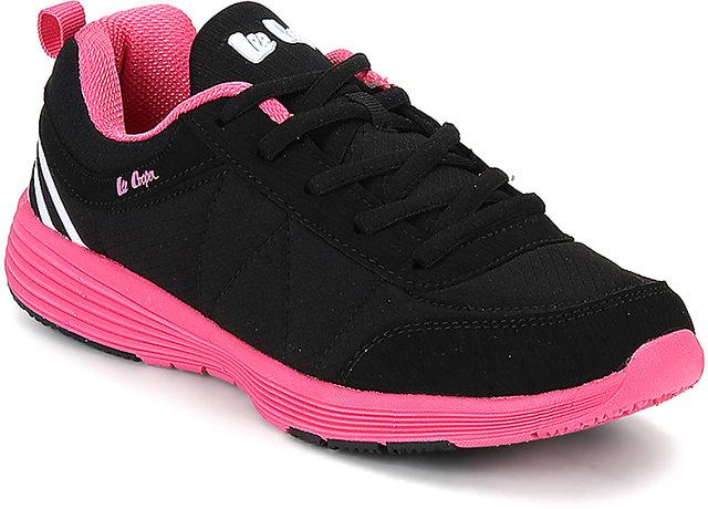 Lee Cooper Women's Black Sports Shoes