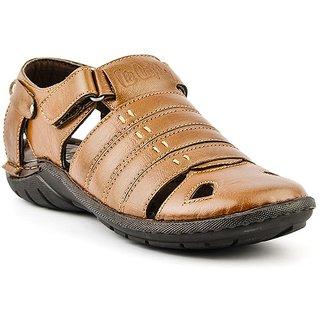 Buy Lee Cooper Mens 1930 Tan Sandals