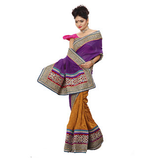 Xclusive Chhabra Georgette Multi Saree