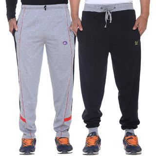Vimal-Jonney Cotton Blended Trackpants For Men(Pack Of 2)