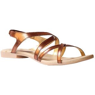 Hansx Women's Brown Sandals