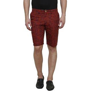Rigo Men's Maroon Shorts