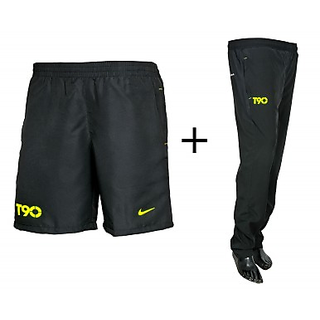 T 90 BRANDED GYM LOWER + SHORTS COMBO
