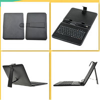 8 Inch USB Keyboard Leather Case Cover For Tablet Pc